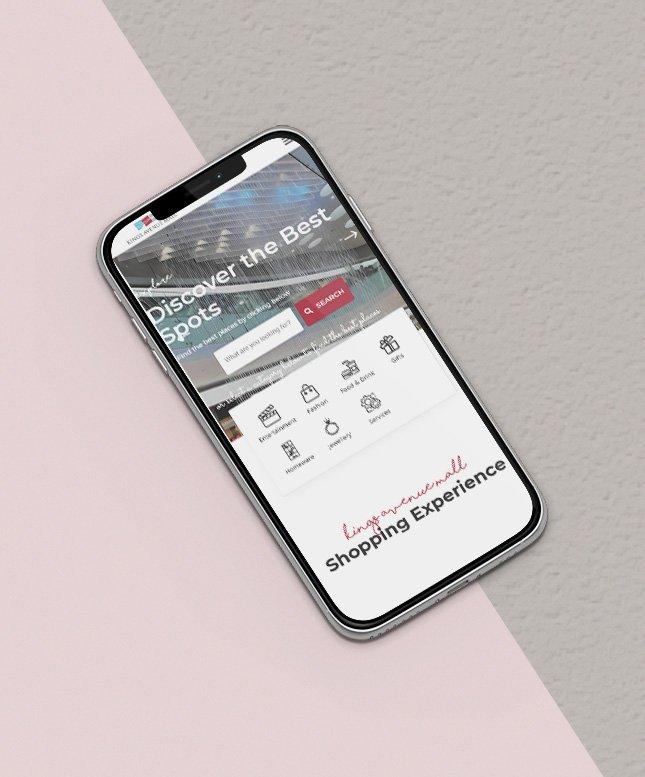 kings avenue mall responsive website