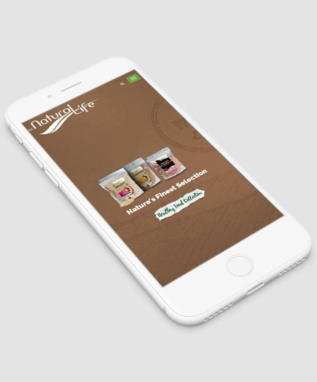 natural life mobile site
