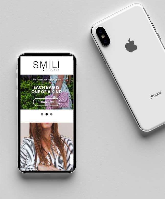 Smili project mobile site