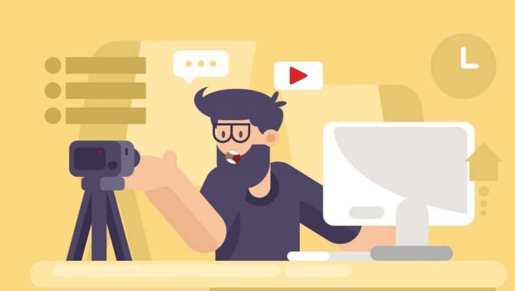 video on social media