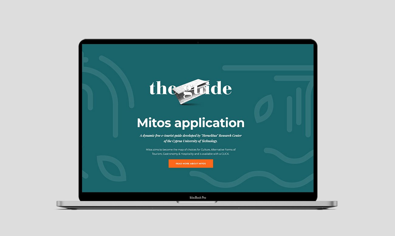 Mtios new website desktop